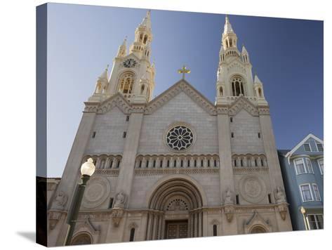 Saints Peter and Paul Church, Washington Square, Telegraph Hill, San Francisco, California, Usa-Rainer Mirau-Stretched Canvas Print