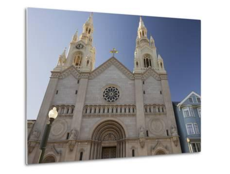 Saints Peter and Paul Church, Washington Square, Telegraph Hill, San Francisco, California, Usa-Rainer Mirau-Metal Print
