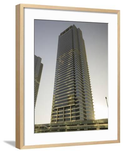 Jumeirah Lakes Towers, Dubai, United Arab Emirates-Rainer Mirau-Framed Art Print