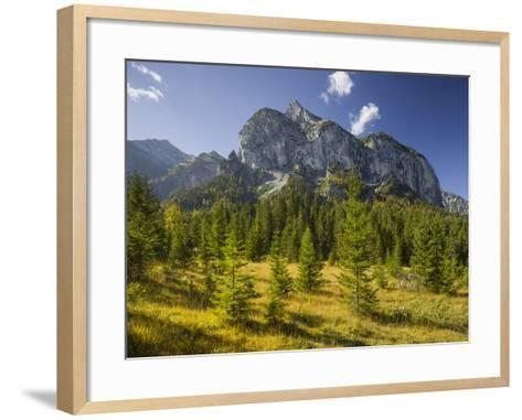 Rosskopfspitze, Risstal, Karwendel, Tyrol, Austria-Rainer Mirau-Framed Art Print