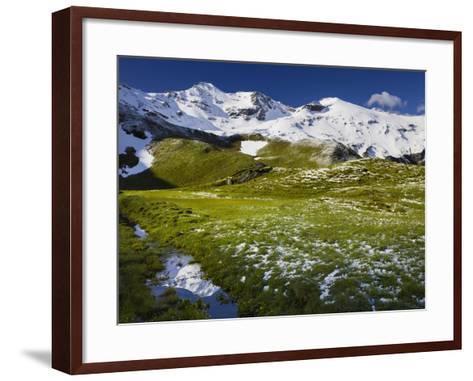 PetersbrŸndl, Glockner Group, Hohe Tauern National Park, Salzburg, Austria-Rainer Mirau-Framed Art Print