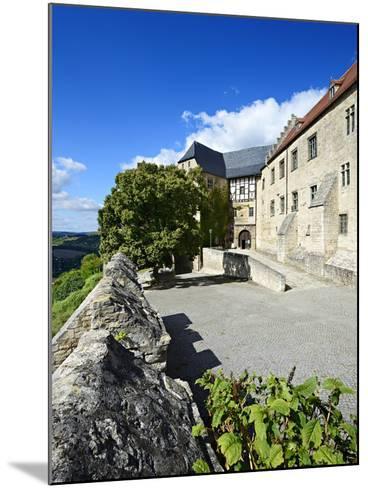 Germany, Saxony-Anhalt, Burgenlandkreis, Freyburg (Unstrut), Castle Neuenburg Above the Unstruttal-Andreas Vitting-Mounted Photographic Print