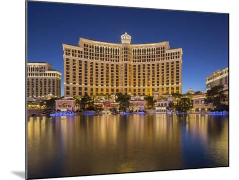 Bellagio Hotel, Lake Bellagio, Strip, South Las Vegas Boulevard, Las Vegas, Nevada, Usa-Rainer Mirau-Mounted Photographic Print