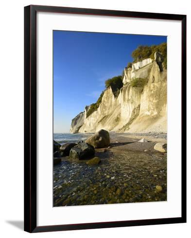 Denmark, Island M¡N, the Chalk Rocks of M¡Ns Klint-Andreas Vitting-Framed Art Print