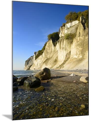 Denmark, Island M¡N, the Chalk Rocks of M¡Ns Klint-Andreas Vitting-Mounted Photographic Print