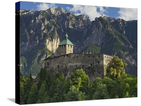 Castello Di Ivano Fracena, Trentino, Italy-Rainer Mirau-Stretched Canvas Print