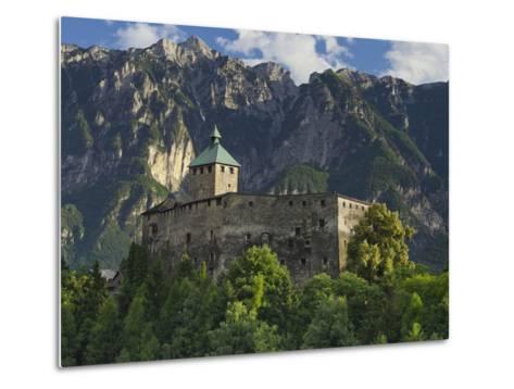Castello Di Ivano Fracena, Trentino, Italy-Rainer Mirau-Metal Print