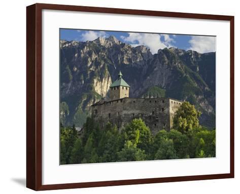 Castello Di Ivano Fracena, Trentino, Italy-Rainer Mirau-Framed Art Print