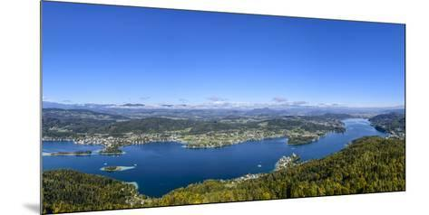 Austria, Carinthia, Eastern Part with Pšrtschach and Maria Wšrth-Udo Siebig-Mounted Photographic Print