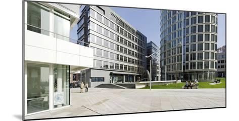 Modern Architecture, Office Buildings, International Coffee Plaza, Hafencity, Hamburg-Axel Schmies-Mounted Photographic Print