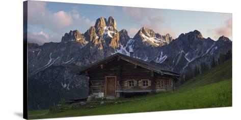 Bischofsm?tze, Sulzenalm (Alp), Filzmoos, Salzburg, Austria-Rainer Mirau-Stretched Canvas Print