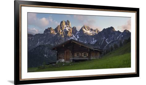 Bischofsm?tze, Sulzenalm (Alp), Filzmoos, Salzburg, Austria-Rainer Mirau-Framed Art Print