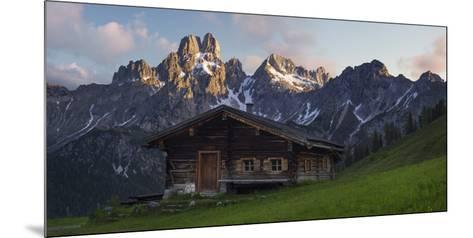 Bischofsm?tze, Sulzenalm (Alp), Filzmoos, Salzburg, Austria-Rainer Mirau-Mounted Photographic Print