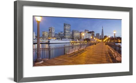 Pier 7, Transamerica Pyramid, Financial District, San Francisco, California, Usa-Rainer Mirau-Framed Art Print