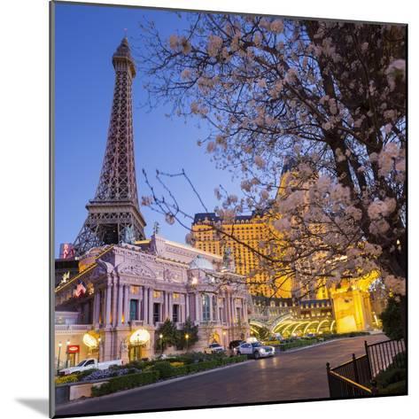 Paris Las Vegas Hotel, Strip, South Las Vegas Boulevard, Las Vegas, Nevada, Usa-Rainer Mirau-Mounted Photographic Print