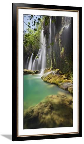 Kursunlu Waterfall, Antalya, Turkey-Rainer Mirau-Framed Art Print