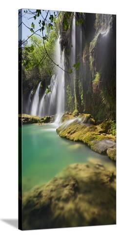 Kursunlu Waterfall, Antalya, Turkey-Rainer Mirau-Stretched Canvas Print