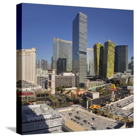 City Center Place, Veer Towers, Aria Resort, Strip, South Las Vegas Boulevard-Rainer Mirau-Stretched Canvas Print