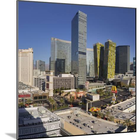 City Center Place, Veer Towers, Aria Resort, Strip, South Las Vegas Boulevard-Rainer Mirau-Mounted Photographic Print