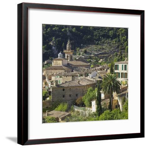 Townscape of Valldemossa, Majorca, Spain-Rainer Mirau-Framed Art Print