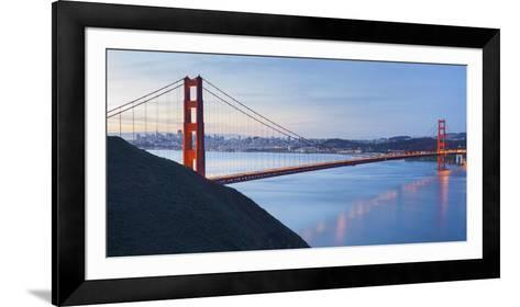 Golden Gate Bridge, San Francisco, California, Usa-Rainer Mirau-Framed Art Print