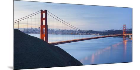 Golden Gate Bridge, San Francisco, California, Usa-Rainer Mirau-Mounted Photographic Print