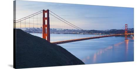 Golden Gate Bridge, San Francisco, California, Usa-Rainer Mirau-Stretched Canvas Print