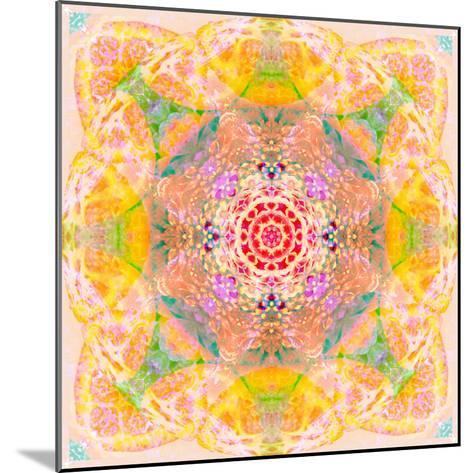 Symmetric Photographic Layer Work of Blossoms-Alaya Gadeh-Mounted Photographic Print
