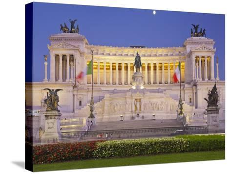 Monumento Vittorio Emanuele Ii, Piazza Venezia, Rome, Lazio, Italy-Rainer Mirau-Stretched Canvas Print