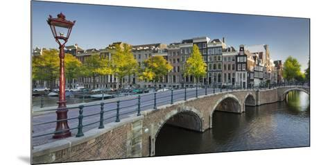 Houses Near the Keizersgracht, Reguliersgracht, Amsterdam, the Netherlands-Rainer Mirau-Mounted Photographic Print