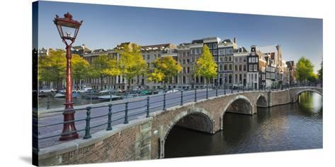 Houses Near the Keizersgracht, Reguliersgracht, Amsterdam, the Netherlands-Rainer Mirau-Stretched Canvas Print