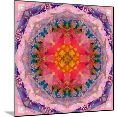 Mandala of Flower Photographies-Alaya Gadeh-Mounted Photographic Print