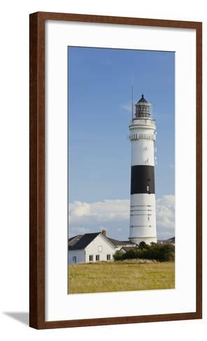 Lighthouse of Kampen (Municipality), Sylt (Island), Schleswig-Holstein, Germany-Rainer Mirau-Framed Art Print