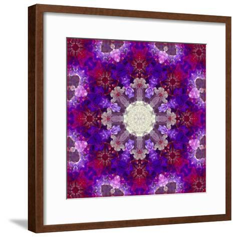 A Many Layered Flower Mandala-Alaya Gadeh-Framed Art Print