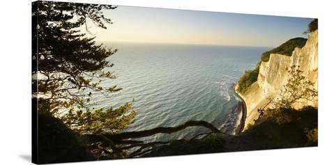 Denmark, Island M¿n, the Chalk Rocks of M¿ns Klint in the Morning Light-Andreas Vitting-Stretched Canvas Print