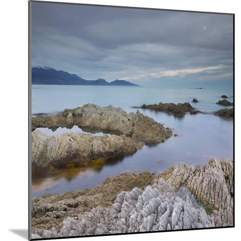 Rock Formations, Kaikoura Peninsula, Manakau Mountains, Canterbury, South Island, New Zealand-Rainer Mirau-Mounted Photographic Print