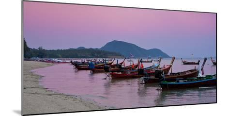 Thailand, Phuket, Rawai Beach, Longtail, Evening-Steffen Beuthan-Mounted Photographic Print