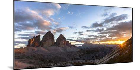 Europe, Italy, South Tyrol, the Dolomites, Tre Cime Di Lavaredo-Gerhard Wild-Mounted Photographic Print