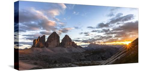 Europe, Italy, South Tyrol, the Dolomites, Tre Cime Di Lavaredo-Gerhard Wild-Stretched Canvas Print