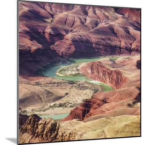 Colorado River as Seen from the Lipan Point, Grand Canyon National Park, Arizona, Usa-Rainer Mirau-Mounted Photographic Print