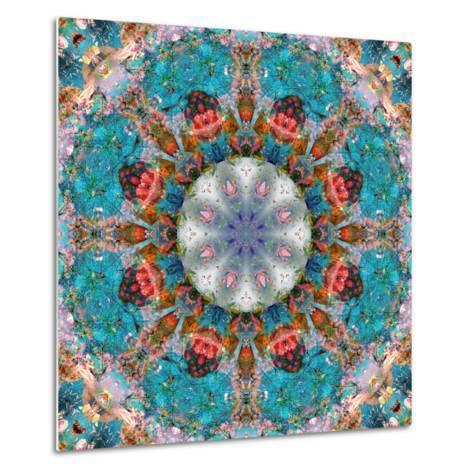 Mandala of Flower Photographies-Alaya Gadeh-Metal Print