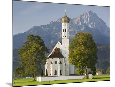 Church St Coloman, FŸssen, AllgŠu, Upper Bavaria, Bavaria, Germany-Rainer Mirau-Mounted Photographic Print