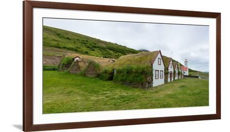 Panorama, Turf House Laufas-Catharina Lux-Framed Art Print