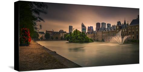 The Netherlands, Den Haag, Parliament, Politics, 'Binnenhof'-Ingo Boelter-Stretched Canvas Print