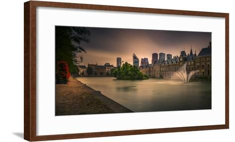 The Netherlands, Den Haag, Parliament, Politics, 'Binnenhof'-Ingo Boelter-Framed Art Print