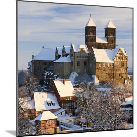 Germany, Saxony-Anhalt, Quedlinburg, Winter-Andreas Vitting-Mounted Photographic Print