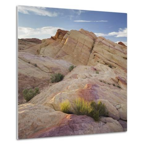 Sandstone, Valley of Fire State Park, Nevada, Usa-Rainer Mirau-Metal Print