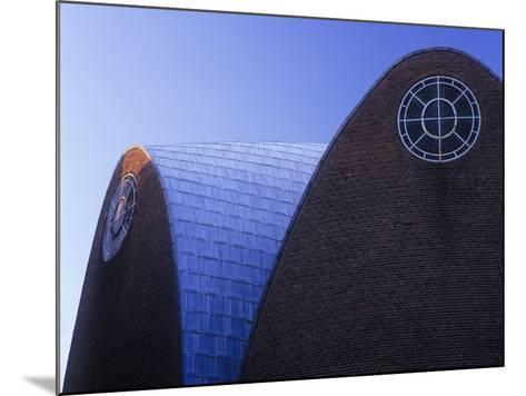Germany, North Rhine-Westphalia, Cologne, Church St Engelbert, Built in 1930-32 by Dominikus Bšhm-Andreas Keil-Mounted Photographic Print