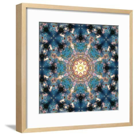 Mandala of Flower Photographies-Alaya Gadeh-Framed Art Print