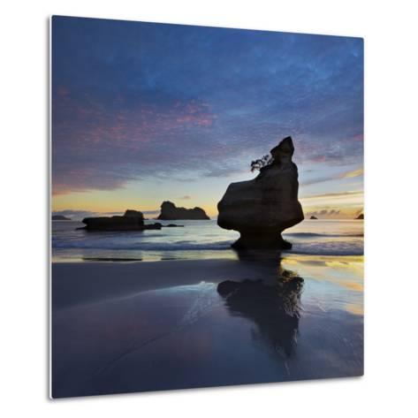 Mares Leg Cove, Coromadel Peninsula, Waikato, North Island, New Zealand-Rainer Mirau-Metal Print